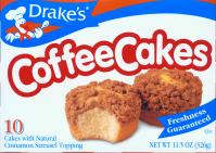 Drakes Coffee Cakes snacks